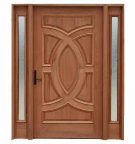Hand crafted Solid Wood Front Door