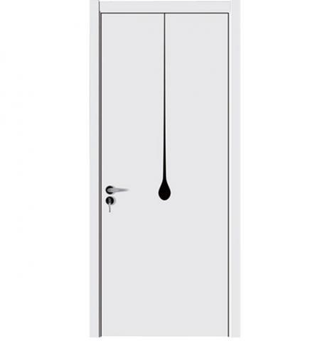 White Painting Room Door