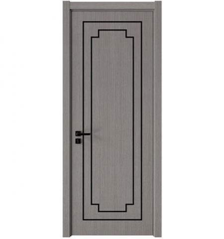 Wengue Veneer Wooden Door