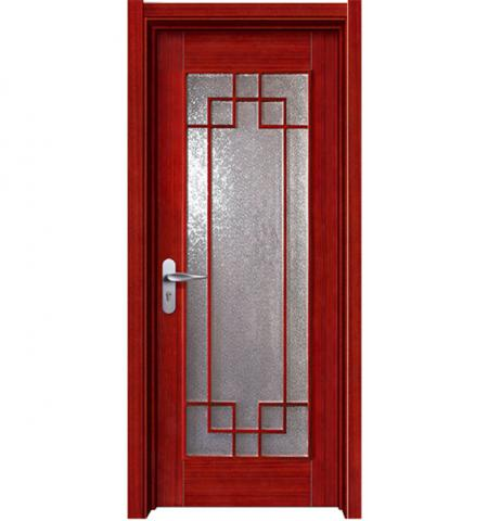 Wooden Glass Door for bathrooms
