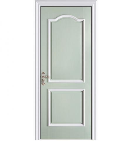 Painting Blue Composite Door