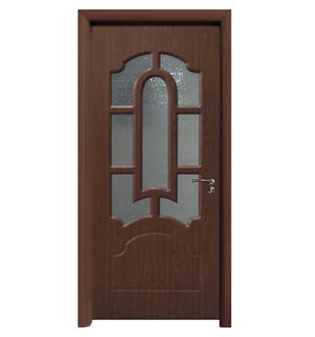 Interior Wooden PVC Toilet Bathroom Door