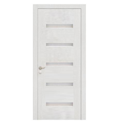 White PVC MDF Interior Door