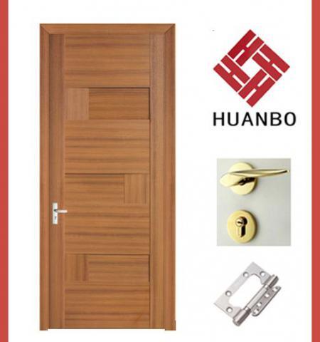 Good Quality Wooden PVC Panel Door